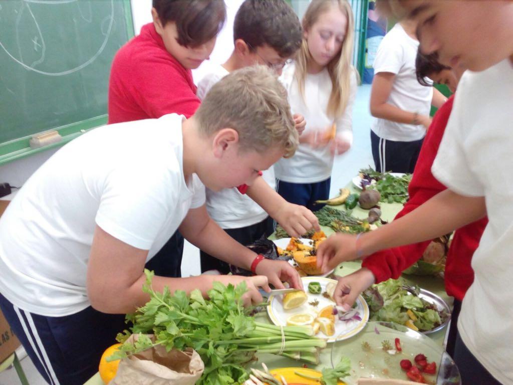 El Cabildo de Lanzarote promueve entre los escolares la alimentación saludable y la conservación del paisaje agrícola de la isla