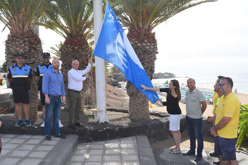 Tías, el municipio de Lanzarote con más banderas azules