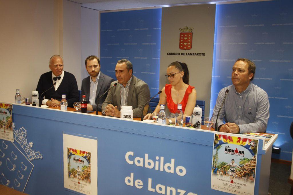 El 'XXVII Ironman Lanzarote', que se celebra el sábado 26 de mayo, contará con 1.850 inscritos procedentes de más de 50 países