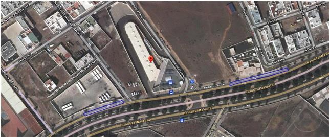 El Cabildo de Lanzarote habilitará paradas de guaguas provisionales junto a la Estación de Guaguas de Arrecife con motivo del inicio de las obras de mejora del firme de las cocheras
