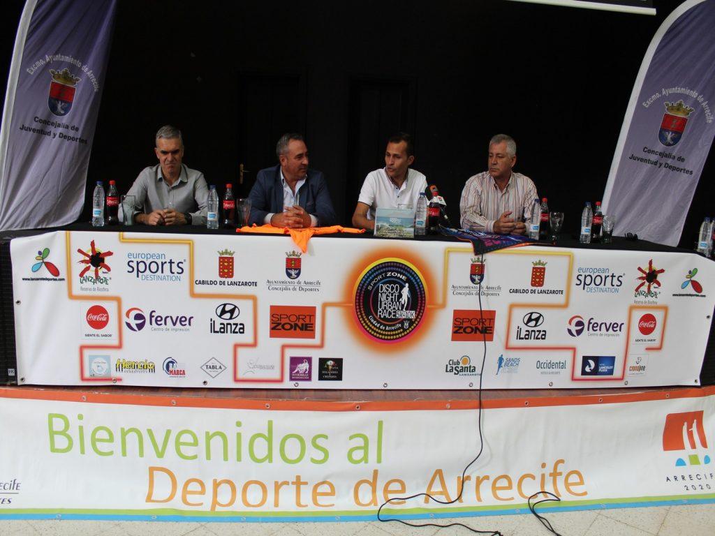 """1.500 personas participarán en la VI Disco Night Urban Race """"Ciudad de Arrecife"""""""