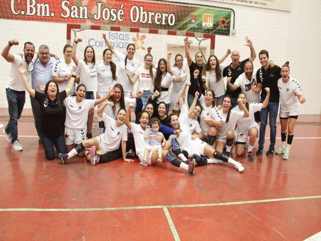 El equipo femenino del San José Obrero de Arrecife logra el ascenso a la División de Plata