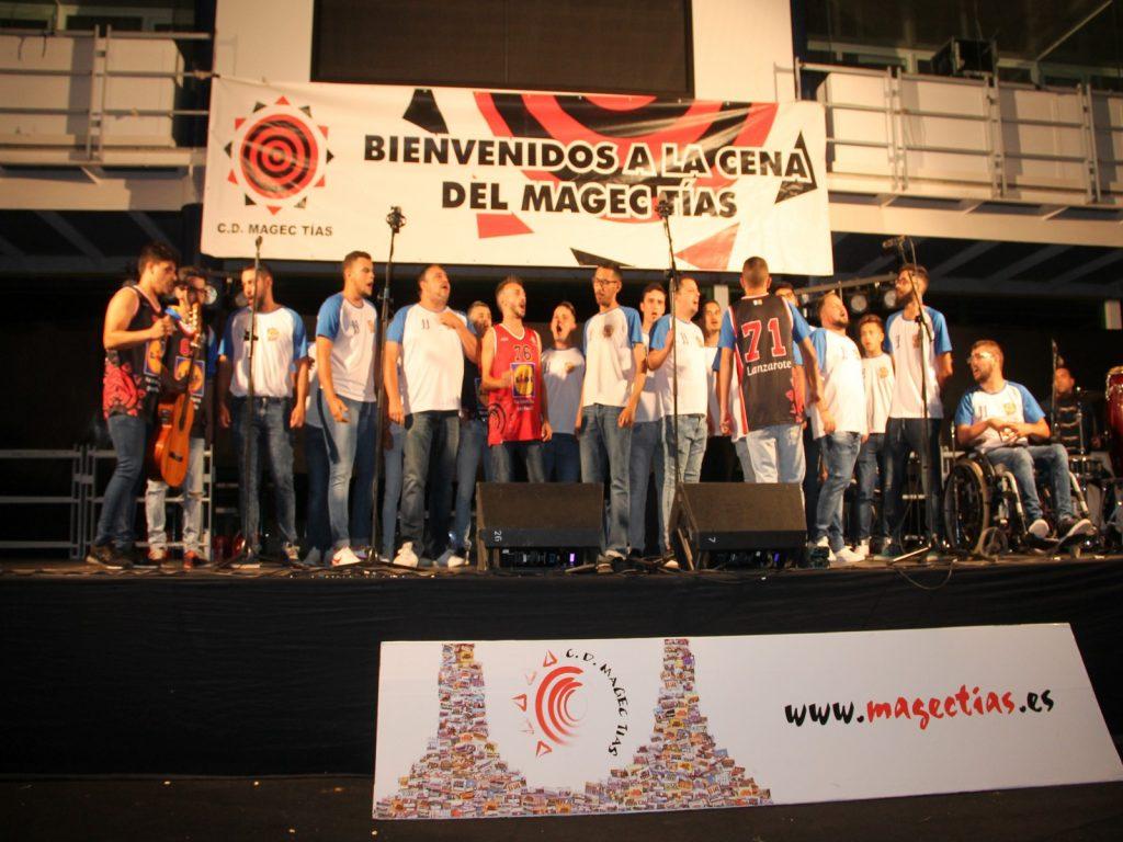 El CD Magec Tías cerró la temporada con su tradicional cena de final de campaña