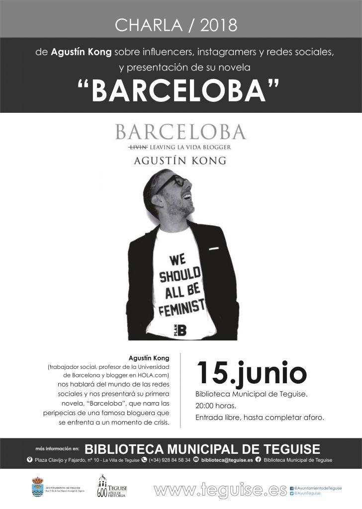 """Las peripecias de """"Barceloba, leaving la vida blogger"""" llegan este viernes a Teguise"""