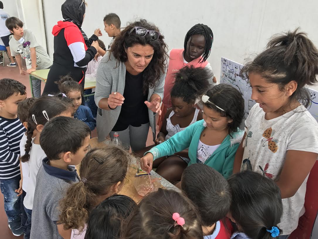 El Colegio de Puerto del Carmen propone a sus alumnos descubrir sus cualidades científicas