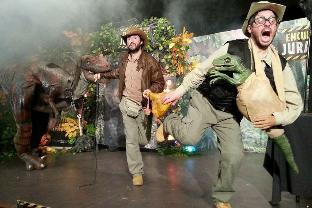 El Salinero será invadido por los dinosaurios de 'Jurásico, la isla perdida'