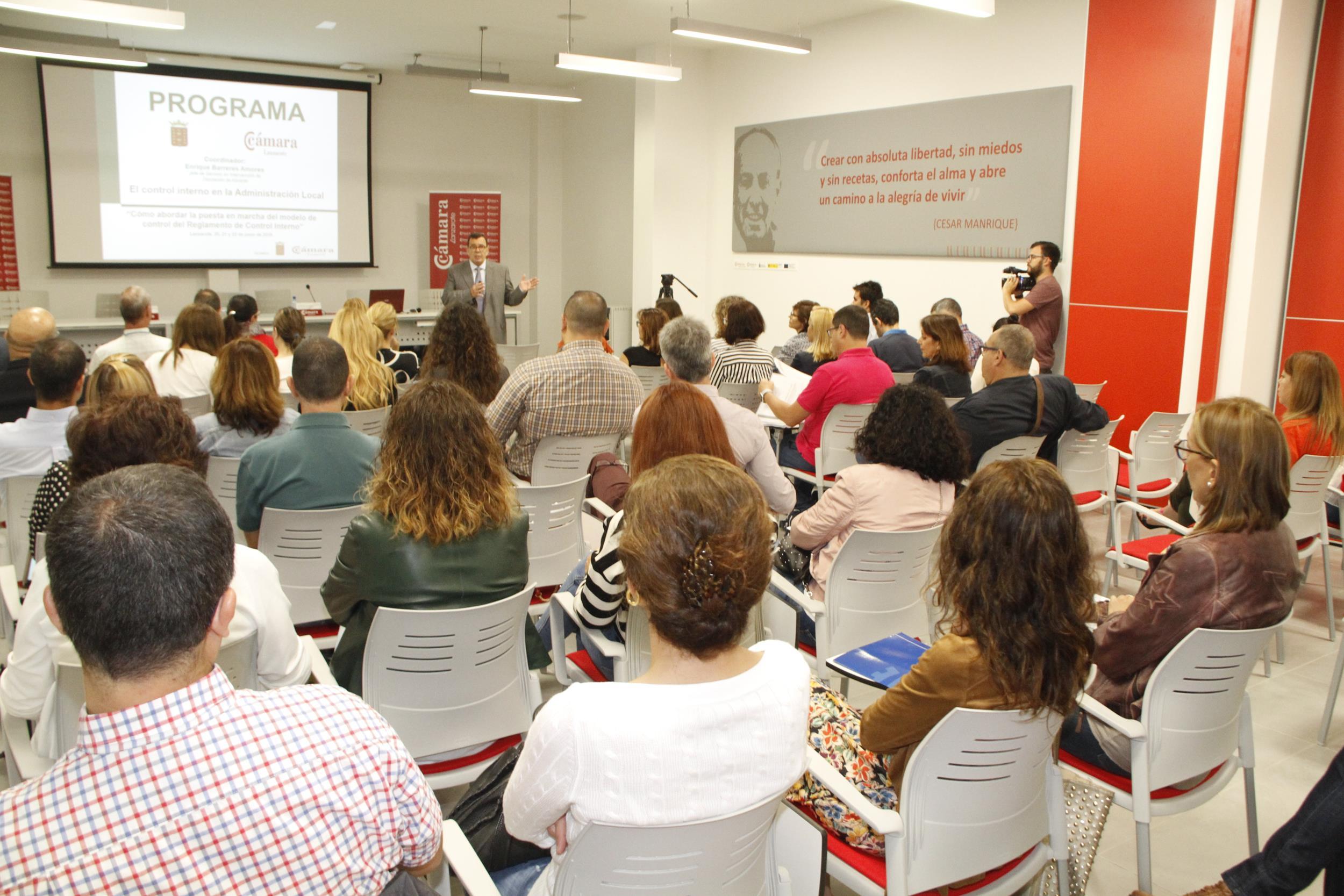 El Cabildo de Lanzarote forma a más de sesenta técnicos y profesionales de la administración local de Canarias sobre la aplicación de la nueva legislación de control interno del gasto público
