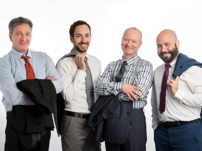 La compañía Doble M lleva al Teatro El Salinero la comedia Mi vida como un zombie