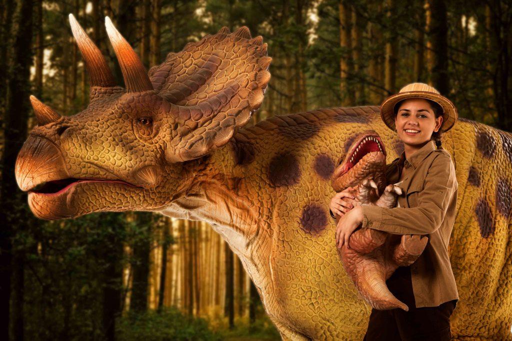Llegan los dinosaurios a Canarias con el espectáculo 'Jurásico, la isla perdida'