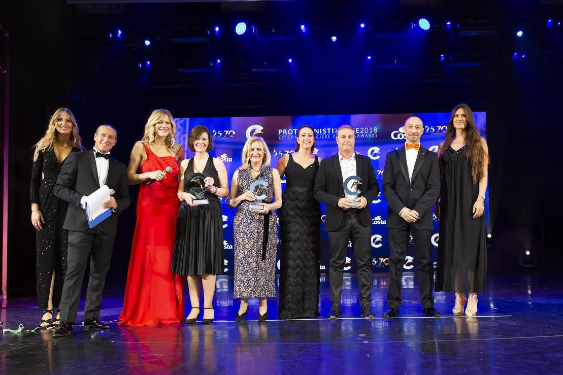 Viajes La Molina premiada como 'Mejor agencia de grupos de España de 2017' por Costa Cruceros