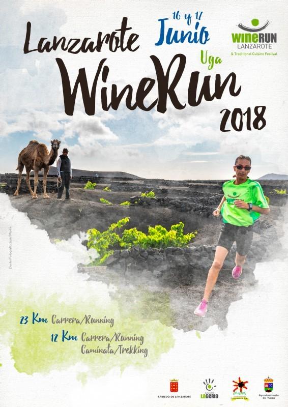 Más de 2.150 inscritos en la 'Lanzarote Wine Run', la Carrera del Vino que discurrirá el domingo 17 de junio por La Geria