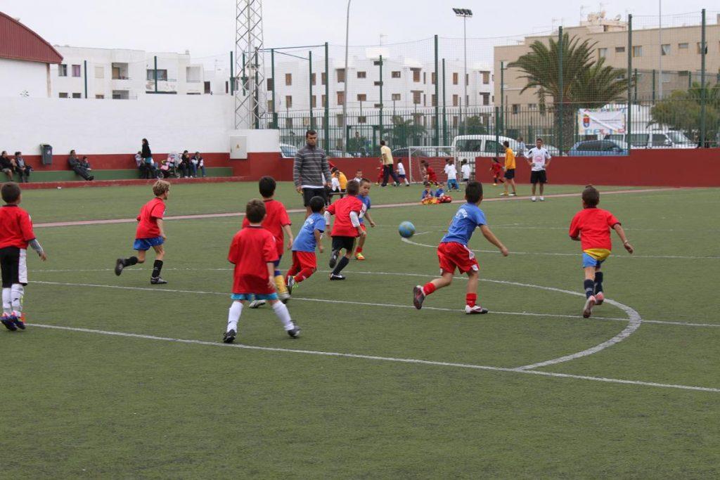 Arrecife clausura mañana el torneo de fútbol Prebenjamín en la Casa de la Juventud
