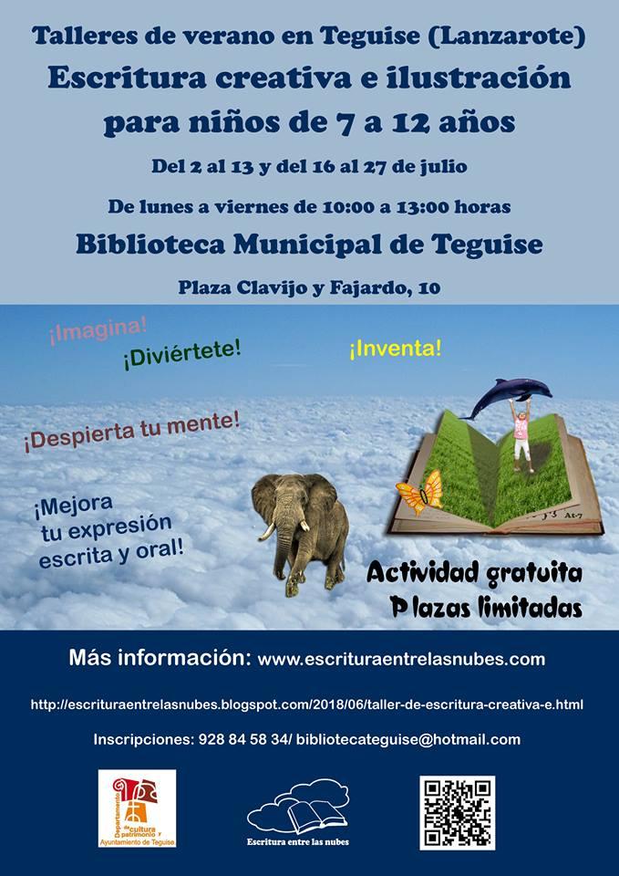 La Biblioteca de Teguise propone un verano ilustrado para los más pequeños