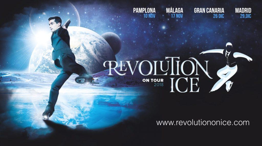 El espectáculo Revolution on Ice del patinador olímpico Javier Fernández llega a Gran Canaria el 26 de diciembre