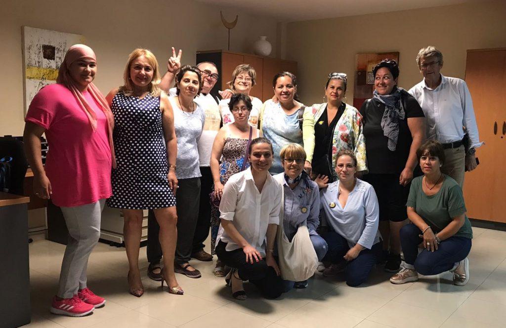 La directora del Instituto Canario de la Vivienda se reúne con la Plataforma por una Vivienda Digna de Lanzarote