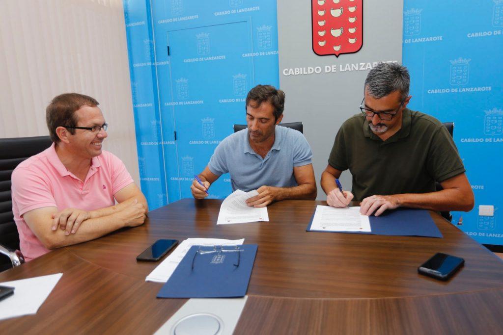 El Cabildo de Lanzarote y el Ayuntamiento de Haría colaborarán con voluntariado 'VoluntHaría' para la recuperación y limpieza de espacios naturales y puesta en valor del patrimonio cultural y ambiental del municipio