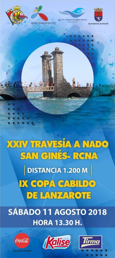 Unos 350 nadadores participarán en la XXIV Travesía a Nado San Ginés – RCNA