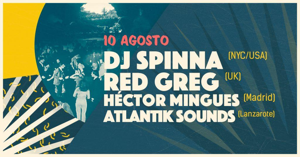 Spinna y Red Greg encabezan la segunda sesión de Jameos Music Festival