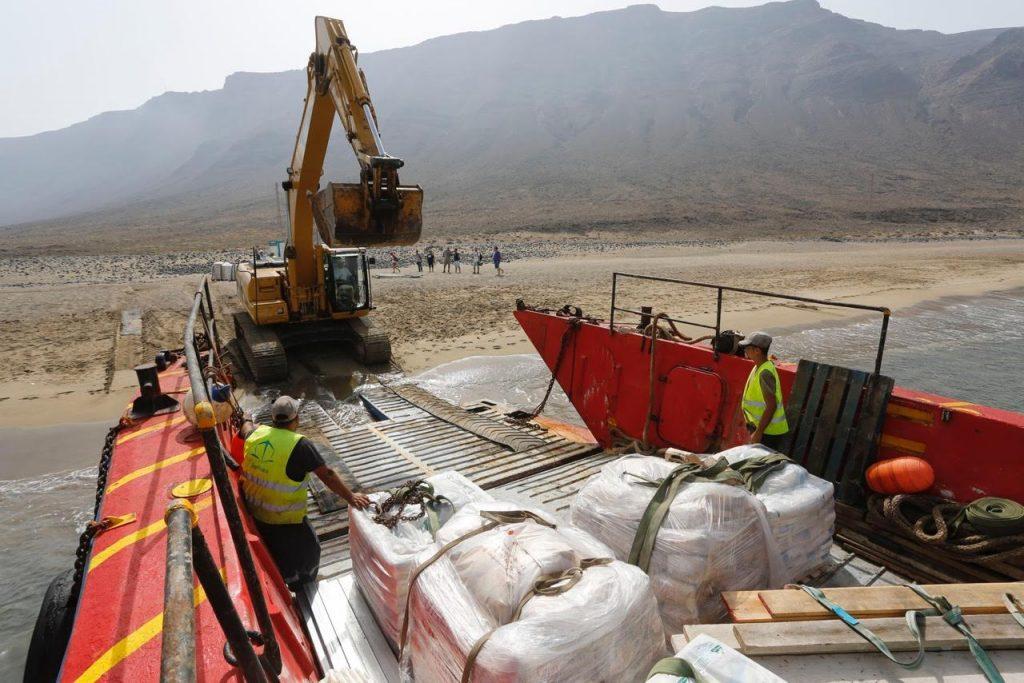 Los Centros inician la restauración de las históricas Salinas del Río