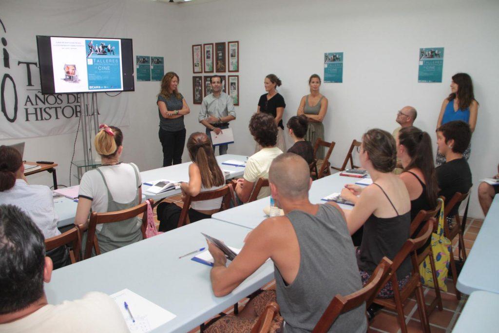 Arrancan los 'Talleres profesionales de cine de Canarias', organizados por el Cabildo de Lanzarote