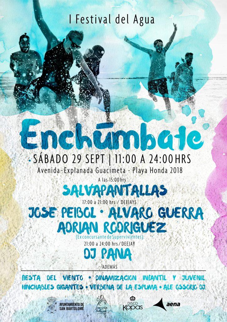 "I Festival del Agua ""Enchúmbate"" Playa Honda 2018"