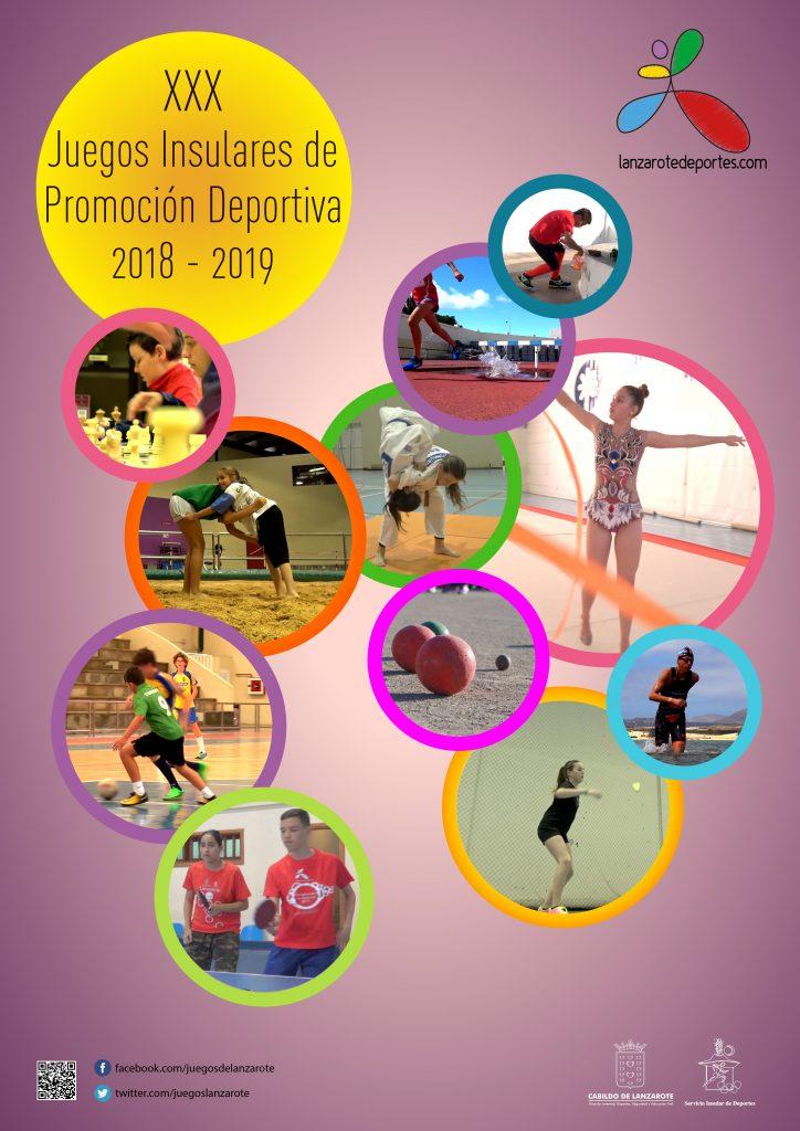 Arrancan los XXX Juegos Insulares de Promoción Deportiva organizados por el Cabildo de Lanzarote