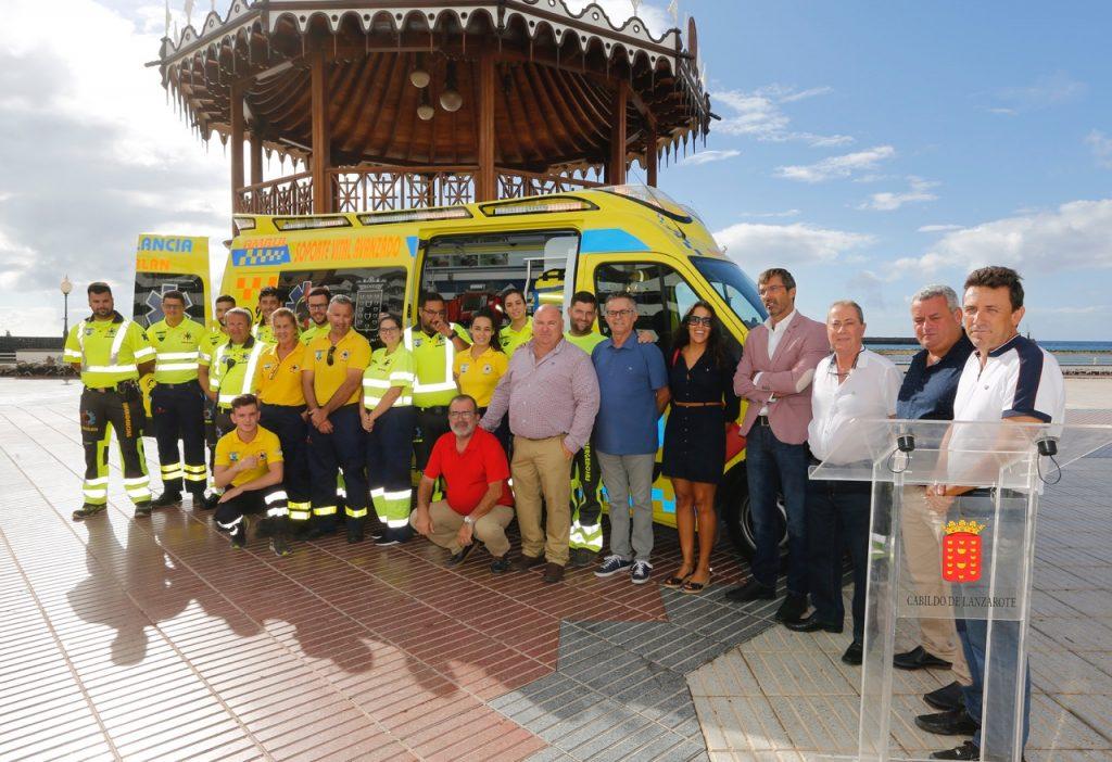 Emerlan, Cabildo de Lanzarote, Consorcio de Emergencias y Fundación Caixa se unen para trabajar juntos en mejorar la seguridad en la Isla
