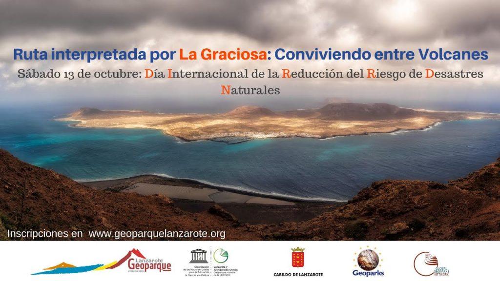 """Geoparque Lanzarote y Archipiélago Chinijo organiza la ruta """"Conviviendo entre volcanes"""""""