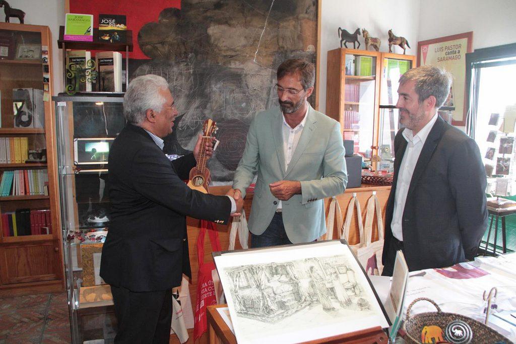 El Cabildo de Lanzarote siempre estará agradecido y orgulloso de que Saramago eligiese su 'Isla de piedra'para vivir