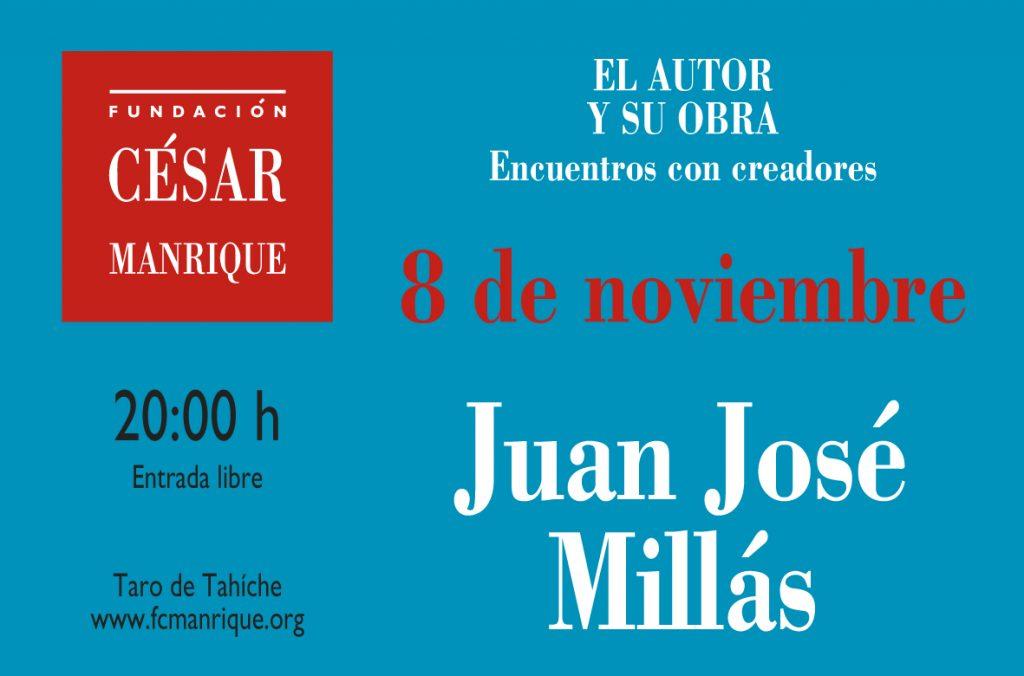 Conferencia de Juan José Millás en la Fundación César Manrique