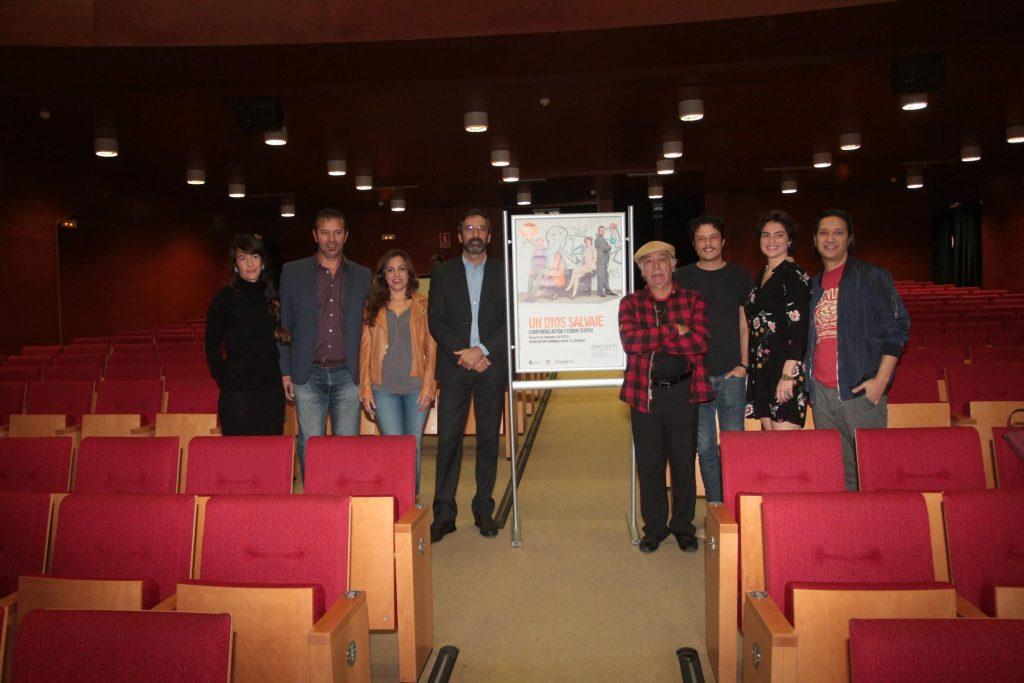 """Un Dios salvaje se estrena este viernes 23 de noviembre en el Teatro Víctor Fernández Gopar """"El Salinero"""""""
