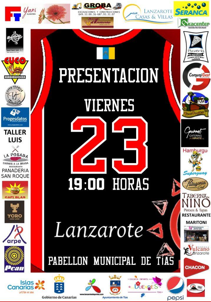 El CD Magec Tías presentará a sus equipos y jugadores este viernes