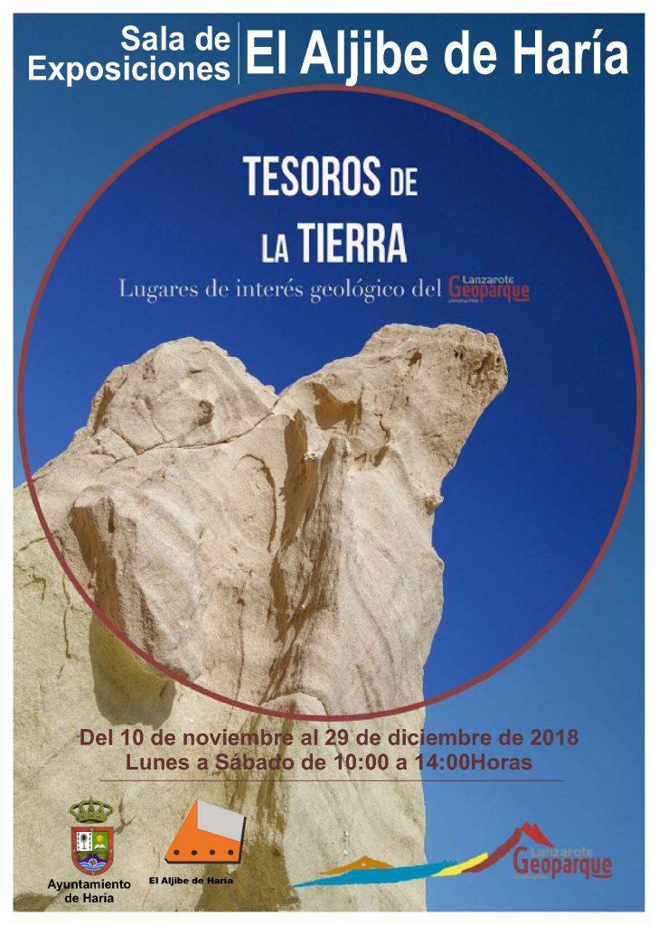 La sala El Aljibe de Haría acoge la exposición 'Tesoros de la Tierra'