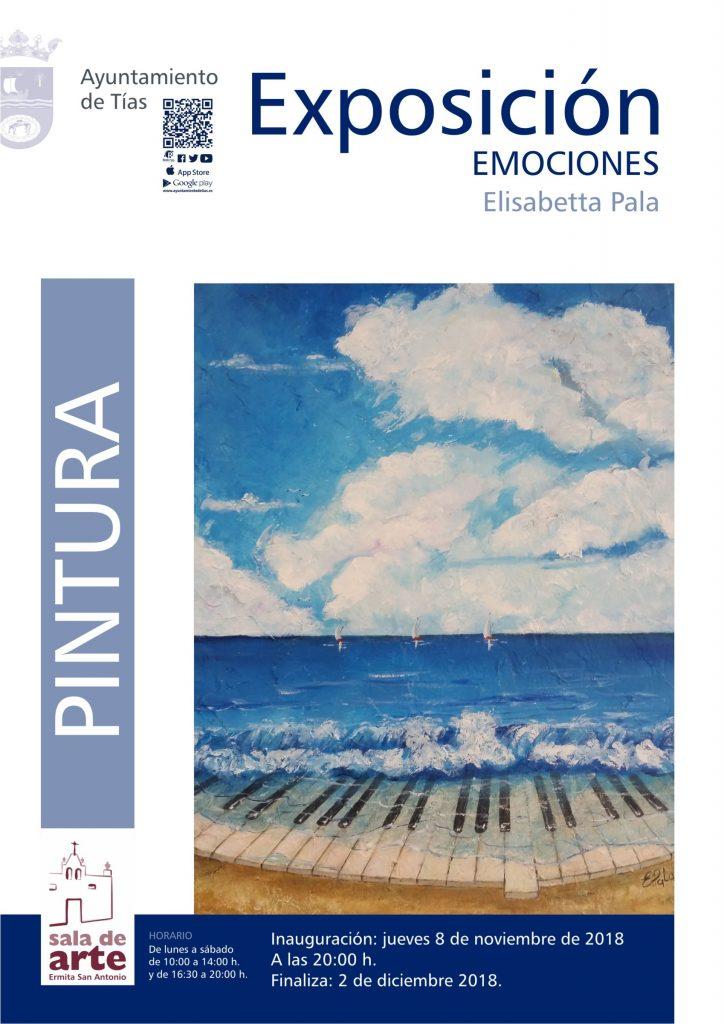La Ermita de San Antonio exhibe la exposición de la artista Elisabetta Pala