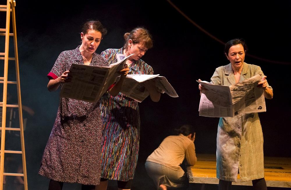 Delirium Teatro lleva su Proyecto Fausto al Teatro El Salinero