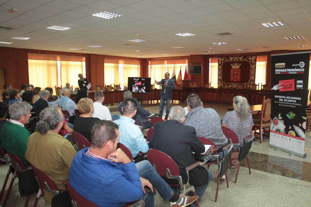 Casi un centenar de expositores ofrecerán lo mejor del producto del territorio en el VIII Festival Enogastronómico Saborea Lanzarote