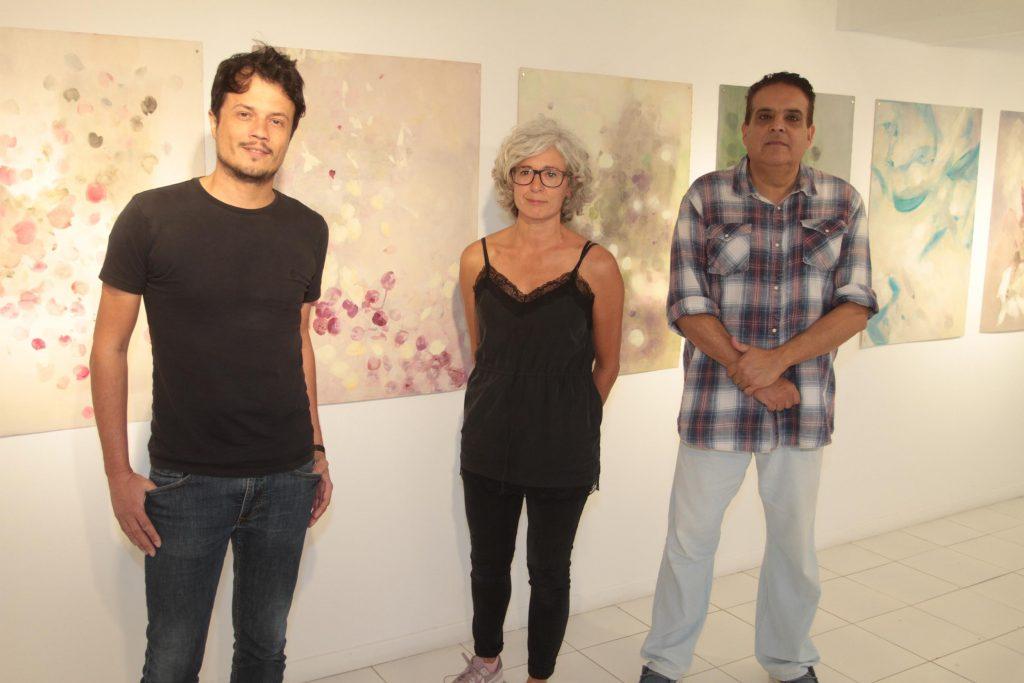 La pintora Nuria Vidal reúne diez años de trabajo en su exposición Vagandi mos