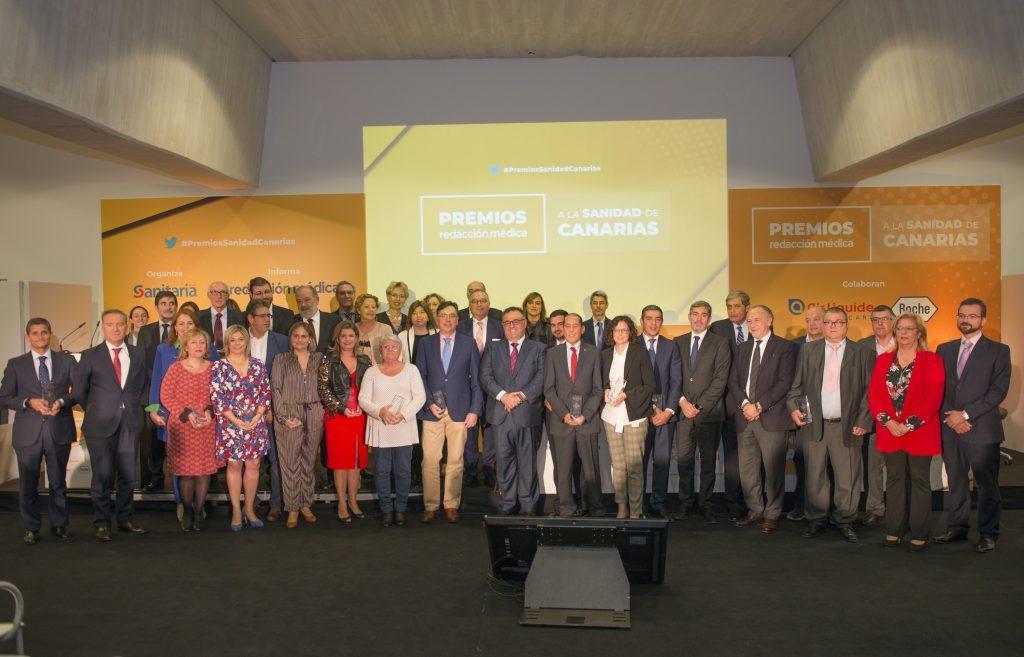 Sanidad felicita a los profesionales del SCS y asociaciones de pacientes galardonados en los Premios Redacción Médica a la Sanidad de Canarias