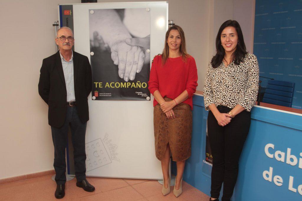 Nace el Proyecto de Acompañamiento al Mayor 'Te acompaño' de la mano de la consejería de Bienestar Social del Cabildo de Lanzarote