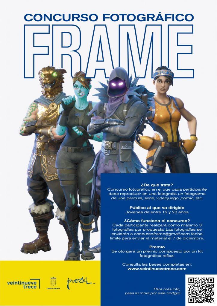 El cine, las series, el anime, los cómic y los videojuegos temática del concurso fotográfico para jóvenes 'Frame'