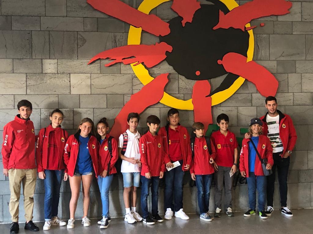 13 Regatistas del RCNA participan en el Trofeo AECIO de Optimist