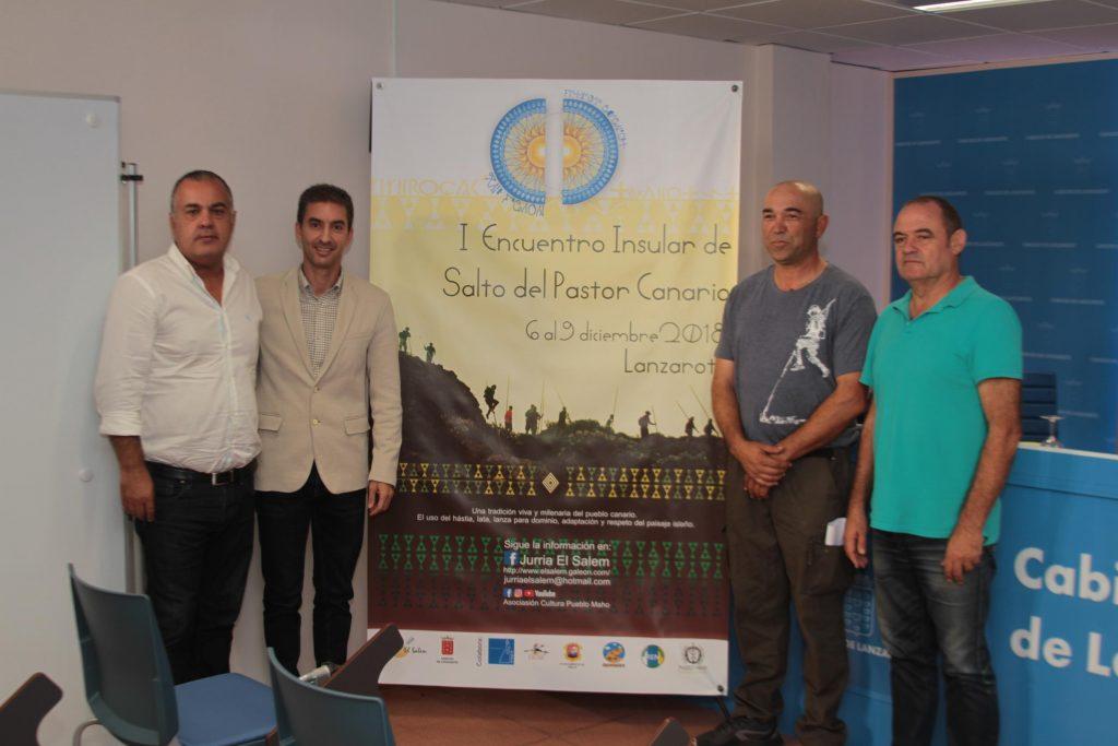 El 'I Encuentro Insular de Salto del Pastor Canario' se celebra esta semana con rutas, charlas y muestra de juegos autóctonos