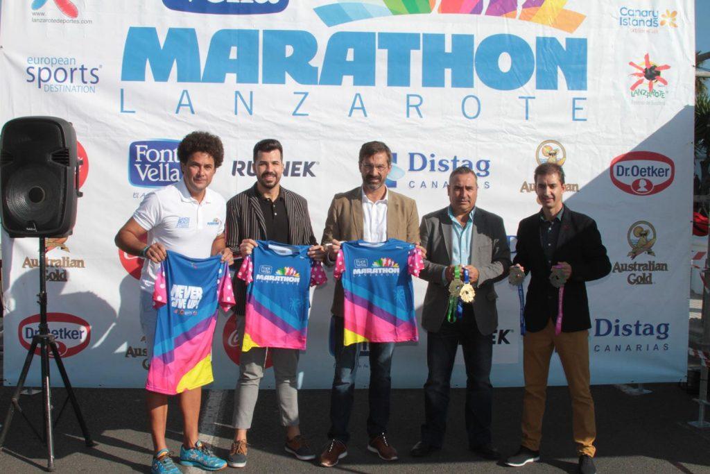 La 28o Font Vella Lanzarote International Marathon contará con cerca de 2400 participantes