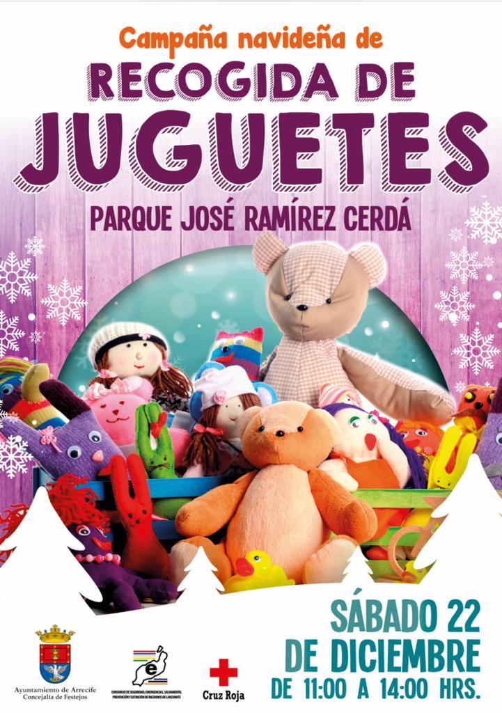 Recogida solidaria de juguetes en Arrecife
