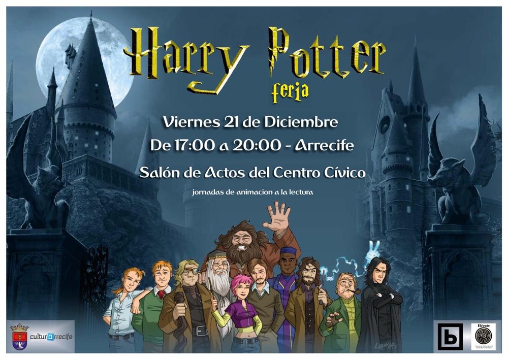 Feria de Harry Potter y Cuentacuentos en Arrecife