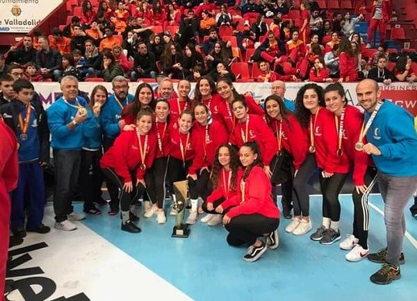 Sabor a CB Puerto del Carmen en la Copa de España juvenil femenina conquistada por Canarias