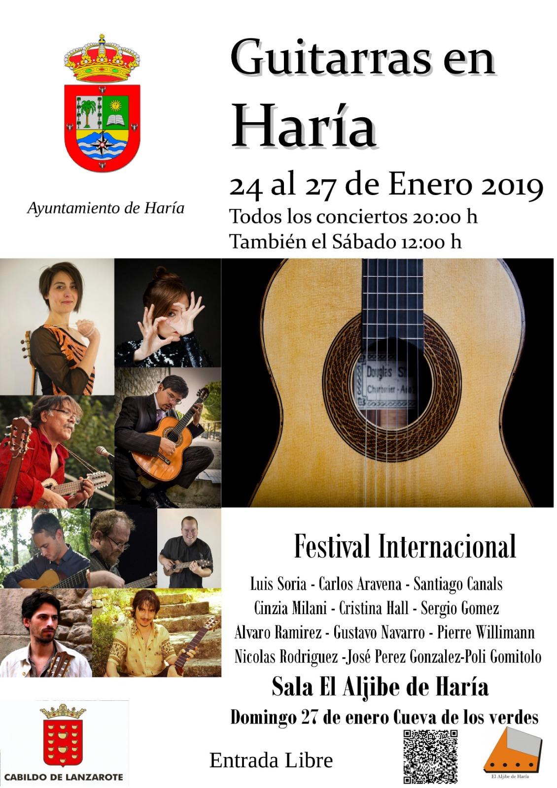 Todo listo para disfrutar de una nueva edición del Festival Internacional 'Guitarras en Haría'