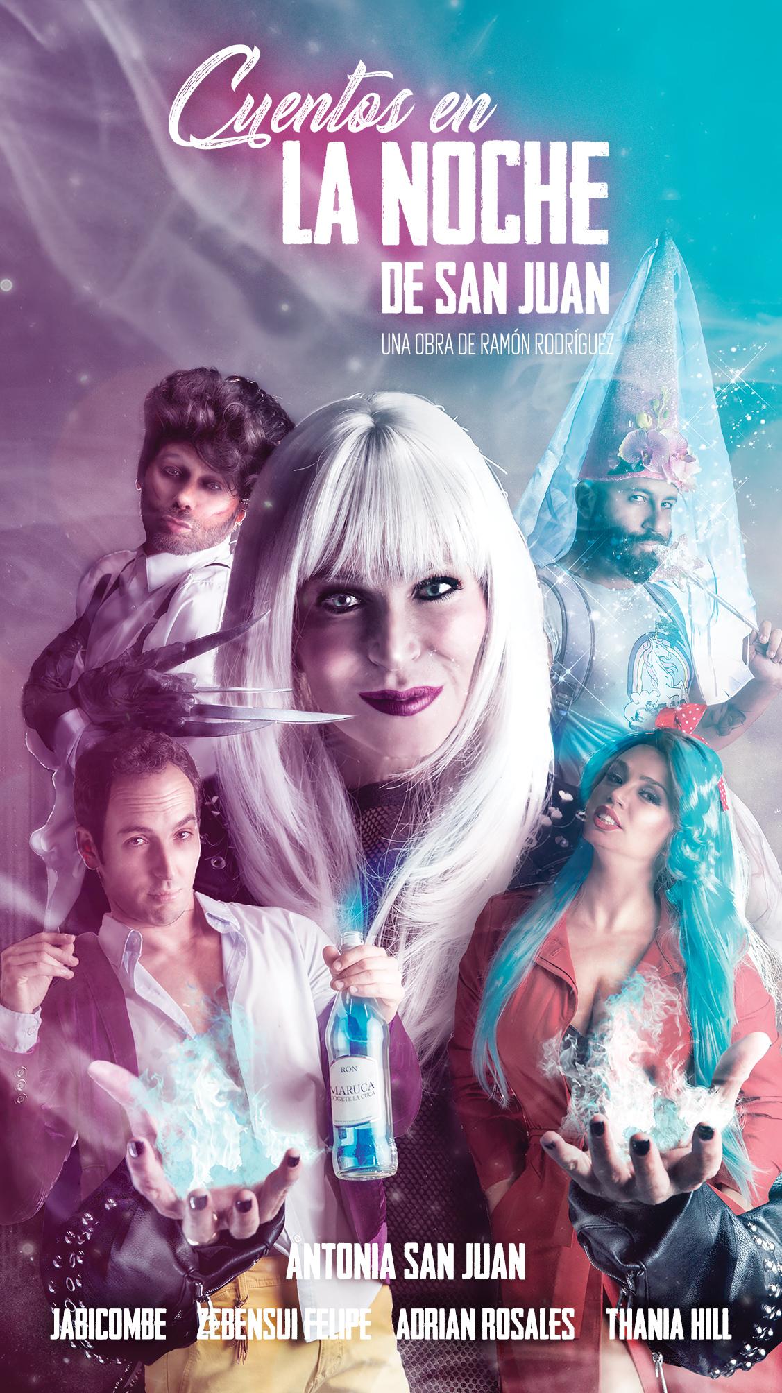 La comedia 'Cuentos en la noche de San Juan' se presenta en Maspalomas y Gáldar