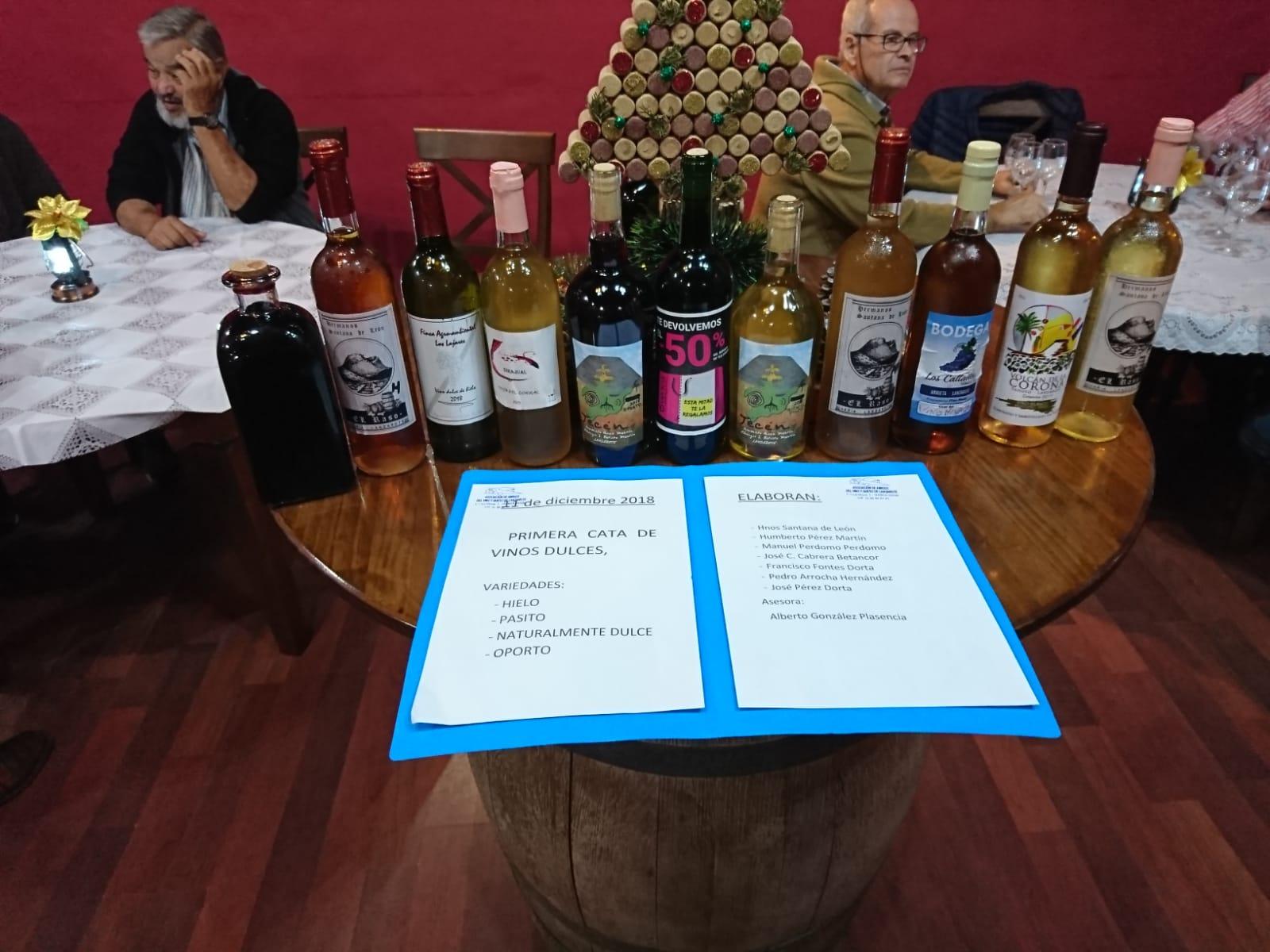 La Tegala acoge una cata de vinos dulces del mundo elaborados en Lanzarote