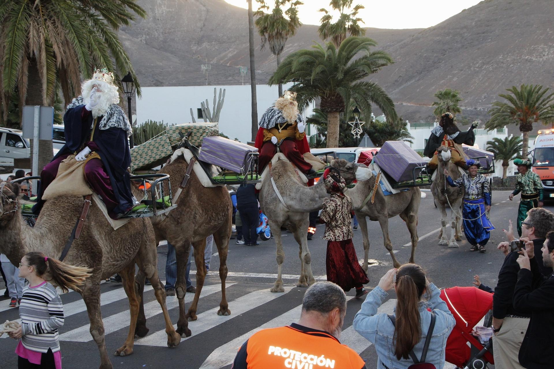 Los Reyes confirman su ruta mágica en Yaiza